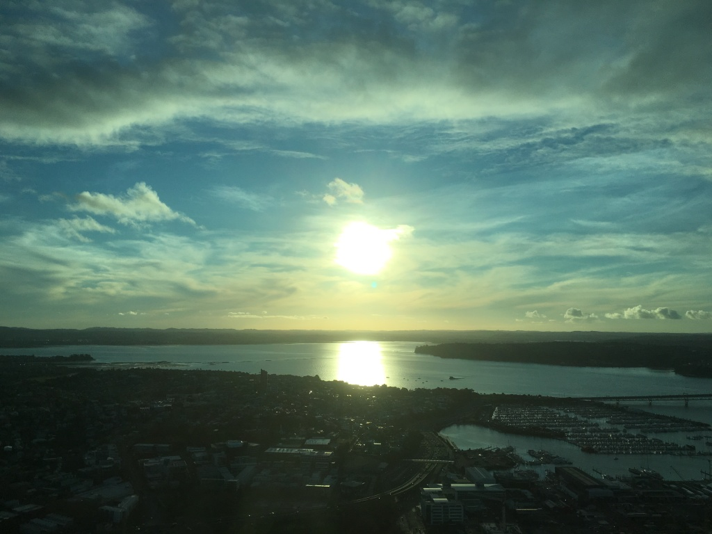 2016 Sunset Over Auckland