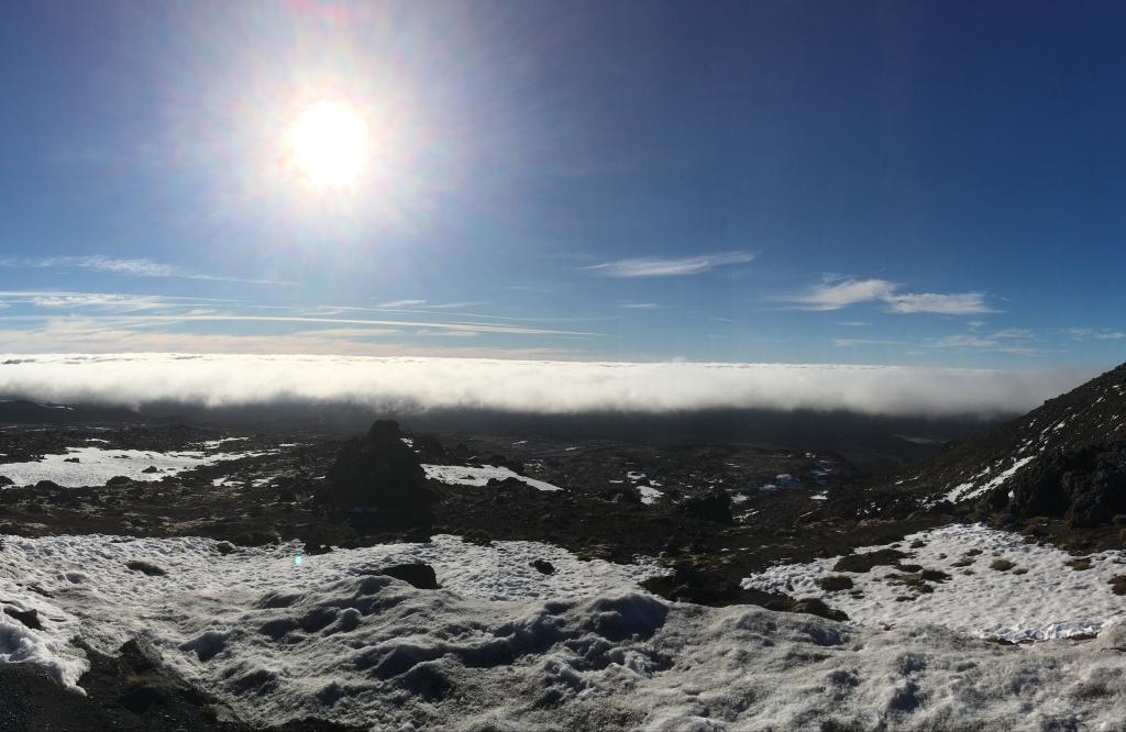 2016 Sun Above the Clouds, Whakapapa, New Zealand
