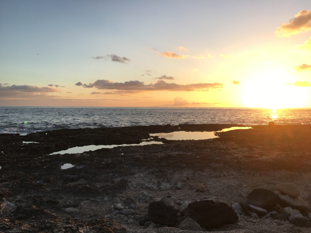 2017 Summer Sunset, Tide Pools at Ko Olina