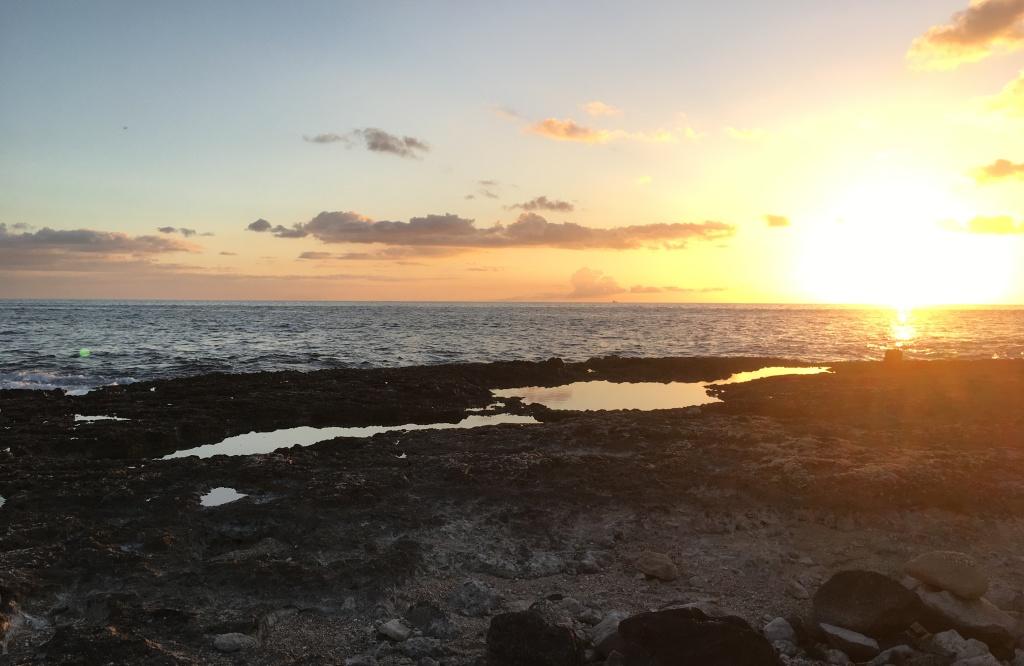 2017 Summer Sunset, Tide Pools at Ko Olina