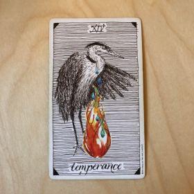 2017 Temperance Tarot  Card