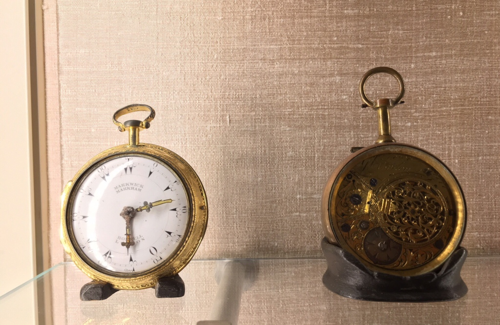 2018 Golden Watches in Doris Duke's bedroom at Shangri-La